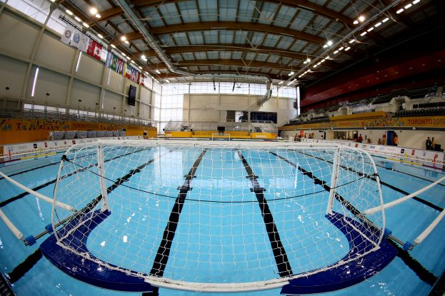 Piscina do Atos Markham Pan Am / Parapan Am Centre em Toronto