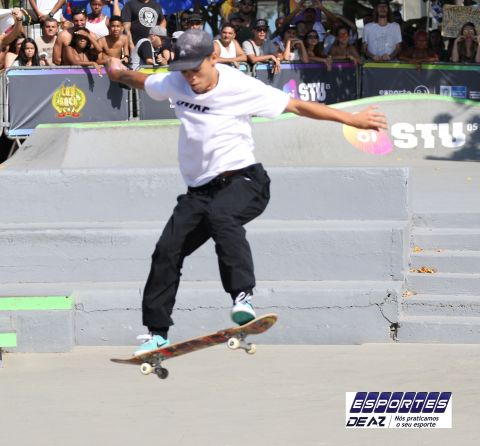 Revelação do Skate vence no STU Open Series