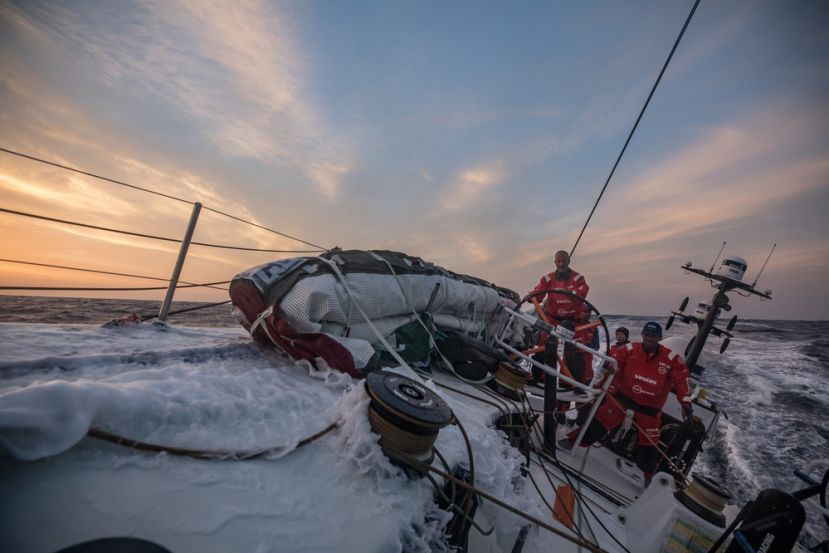 On board equipe Vestas 11th Hour Racing