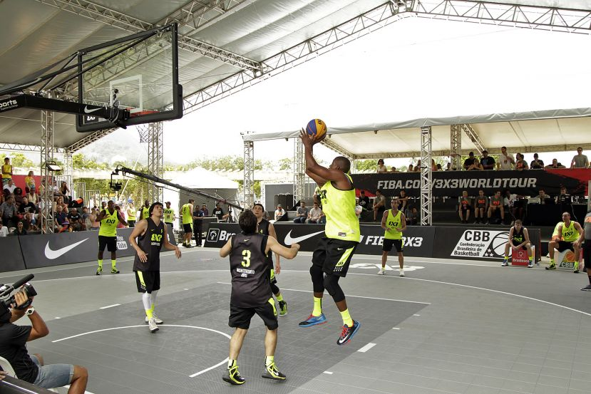 Desafio Gigantes do 3x3 movimenta Zona Norte do Rio