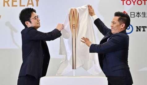 Divulgada tocha olímpica dos jogos de Tóquio 2020