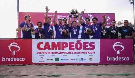Argentina é campeã do Desafio Internacional de Beach Rugby
