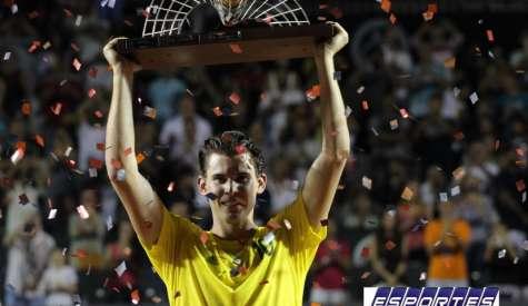 Dominic Thiem confirma participação no Rio Open pelo quarto ano seguido
