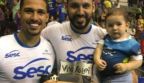 Sesc RJ vence Sada Cruzeiro em jogo eletrizante