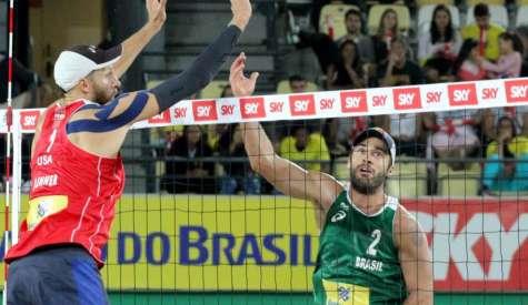 Alison/Bruno e Ágatha/Duda disputam final no Rio