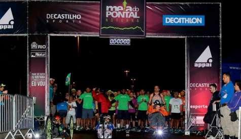 Meia maratona noturna agita o Pontal, no Recreio dos Bandeirantes
